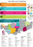 Carte des CISP du Brabant wallon