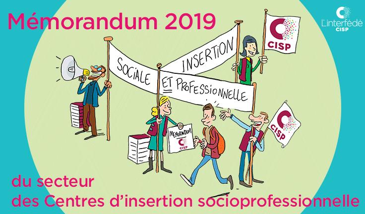 Le Mémorandum des CISP pour les élections 2019