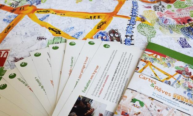 Cartes et rêves : Un outil d'exploration du territoire ludique et créatif