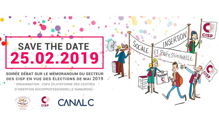 Soirée-débat sur le mémorandum des CISP en vue des élections 2019