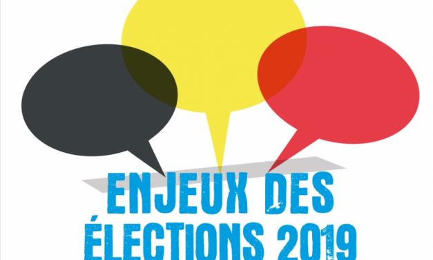 Les couleurs politiques en Belgique & Enjeux des élections 2019 : deux outils de Cultures et Santé