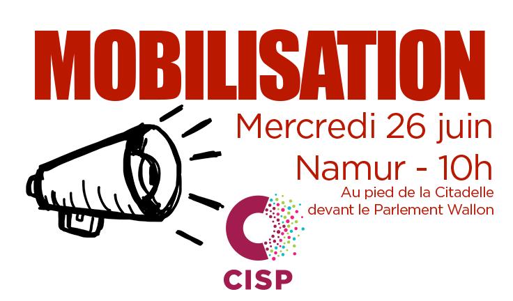 Mobilisation du secteur CISP