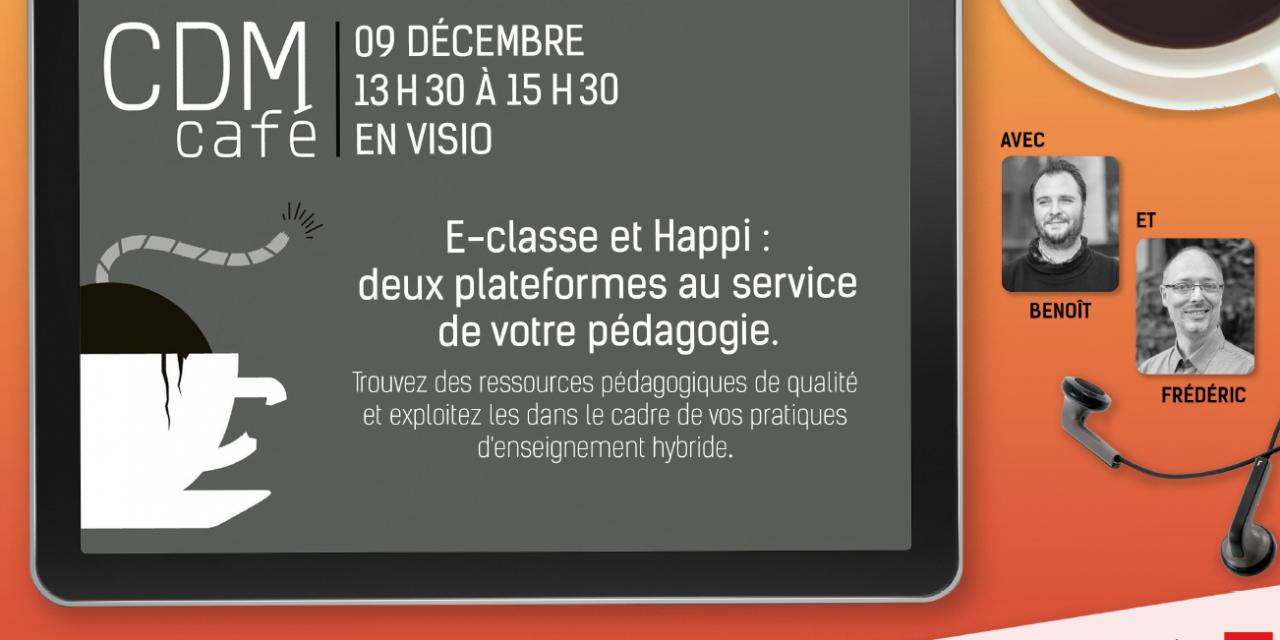 CDM Café : Ressources pédagogiques pour vos pratiques d'enseignement hybrides