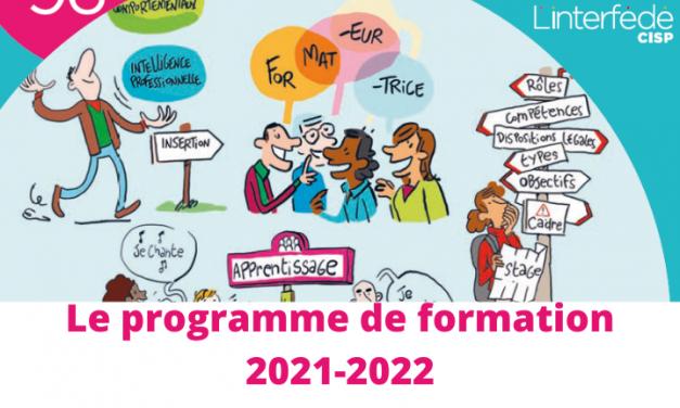 Découvrez le nouveau programme de formation 2021-2022 de l'Interfédé