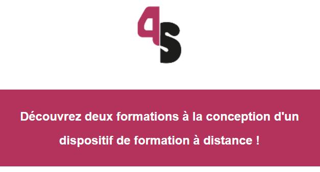 Formateurs, formatrices : découvrez deux formations à la conception d'un dispositif de formation à distance !